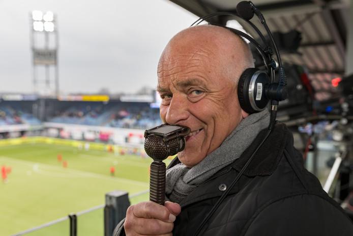 Evert ten Napel in het stadion van PEC Zwolle.