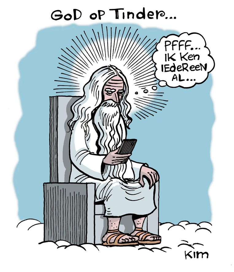 Cartoon van Kim Duchateau