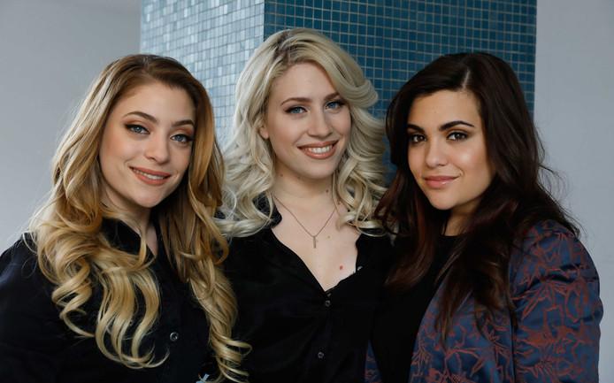 Amy, Lisa en Shelley (vlnr)