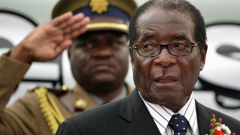 Mugabe in 2008. Beeld reuters