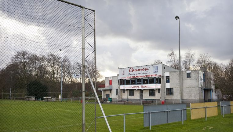 De inmiddels opgeheven en voetbalclub Sporting Noord. Beeld Marc Driessen