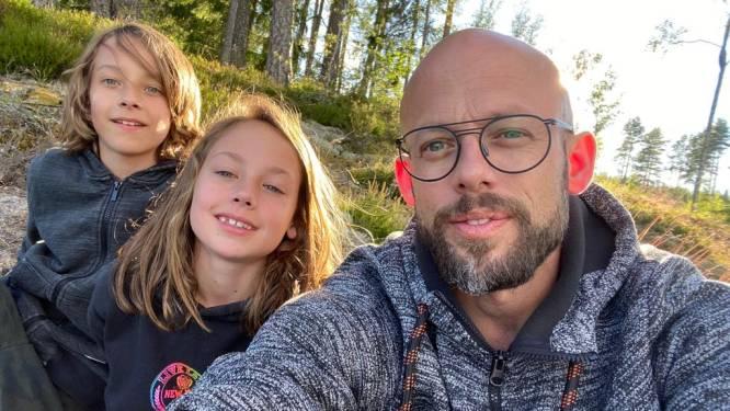 """""""Van toiletten kuisen tot de tuin onderhouden: ik ga het allemaal doen"""": Staf Coppens en zijn gezin starten nieuw leven in Zweden"""
