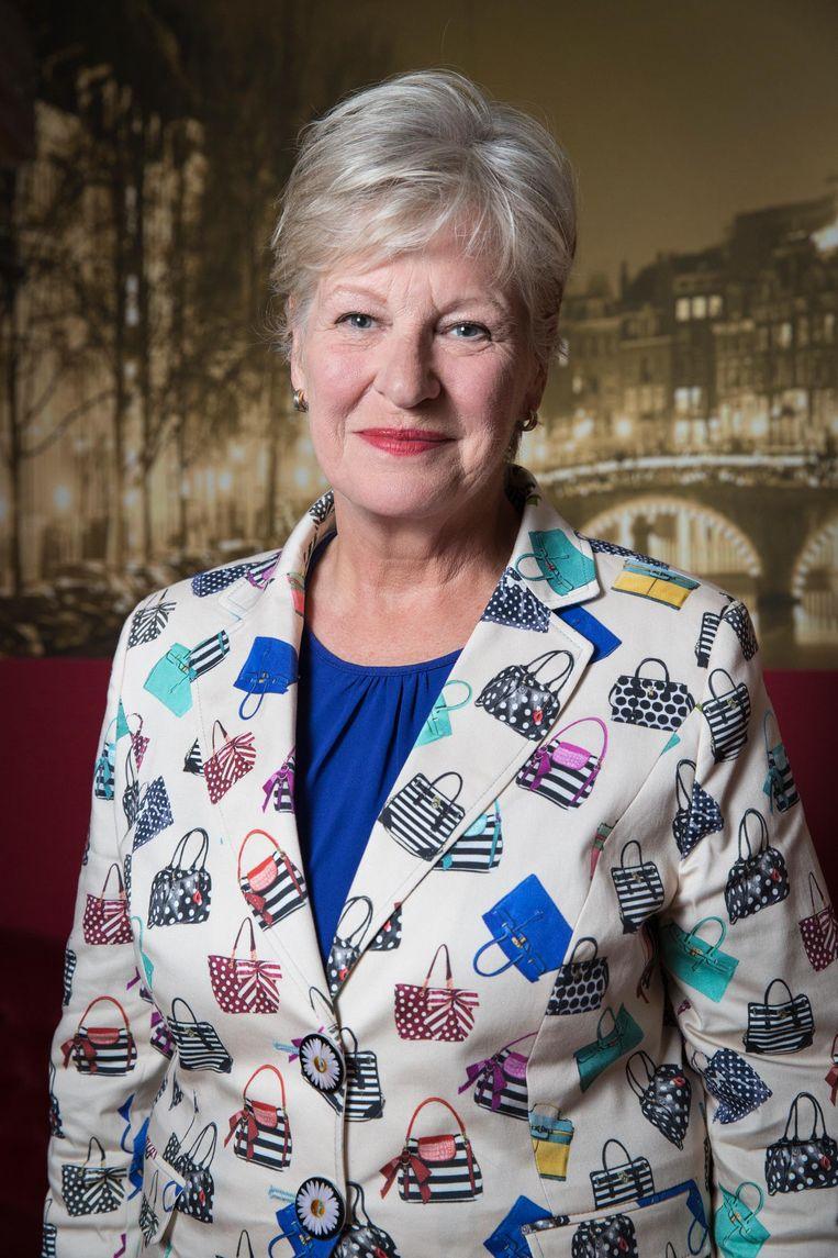 Anneke Bakker, Oud-omroepster werd kennelijk voor straf naar de middaguitzending verbannen. Beeld Dingena Mol