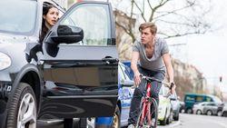 Opnieuw zwaar ongeval met fietser die tegen openzwaaiende autodeur knalt: met deze truc kan je levens redden