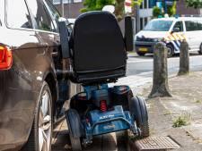 Ook veiligheidsprobleem met scootmobiel en  elektrische bakfiets