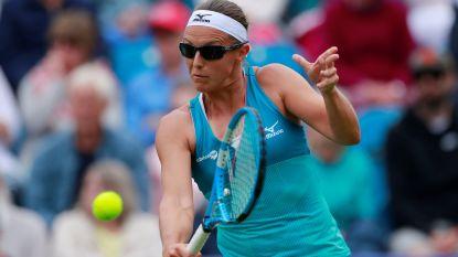 Kirsten Flipkens stoot door naar dubbelfinale in Eastbourne