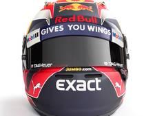 Max Verstappen presenteert nieuwe helm