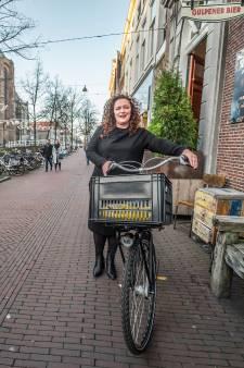 Frances' fiets is haar 'allessie': 'Ik kan het niet maken om zwetend en hijgend bij afspraak aan te komen...'