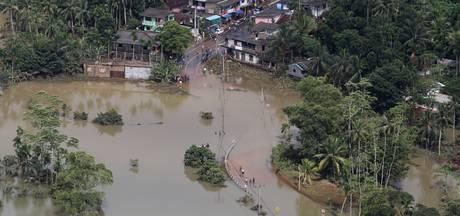 Landverschuivingen en overstromingen in Sri Lanka, zeker 150 doden