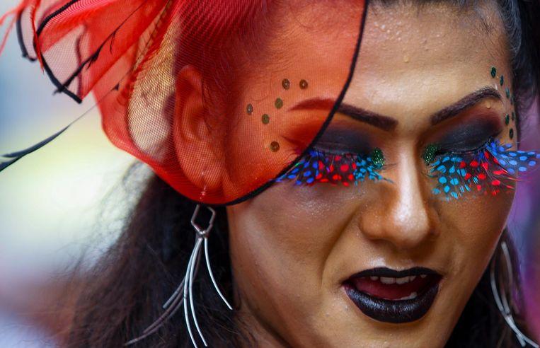 'Ik ging erover fantaseren wat er gebeurt als steeds meer mensen hun gender veranderen.' Beeld EPA