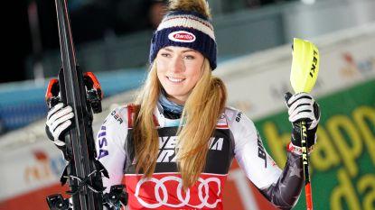 Mikaela Shiffrin na zeldzame nederlaag weer de beste in WB-slalom Zagreb
