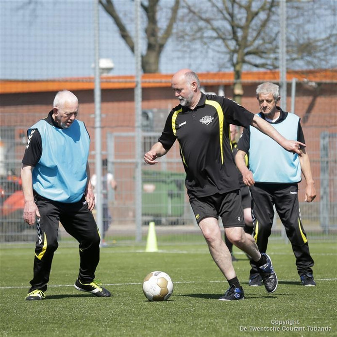 Walking Football in Westerhaar.