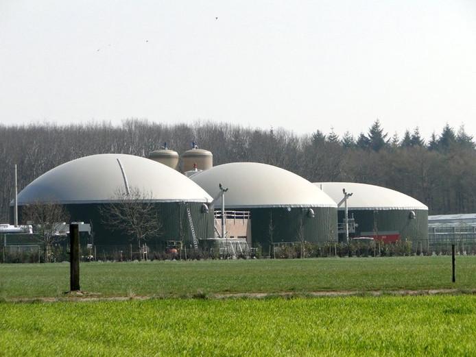 De drie silo's van Biomoer.
