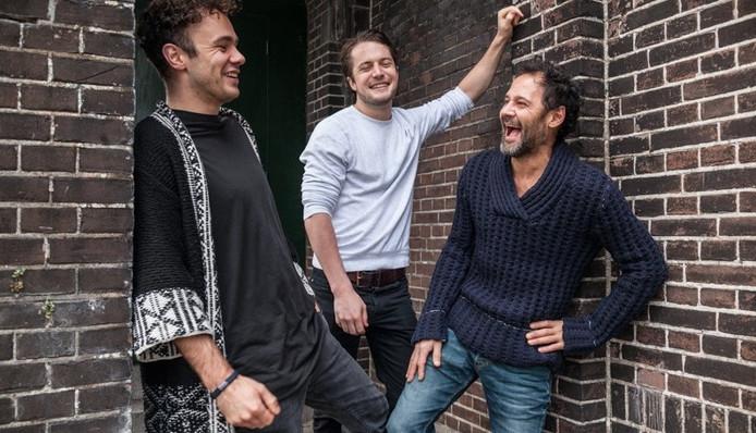 Van links naar rechts: oprichters Robin Karels en Pascal Peeters samen met salesdirector Daan Choy van The Stillery.