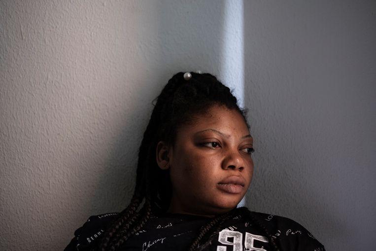 De Nigeriaanse Sarah belandde in Italië in de straatprostitutie. Beeld Giulio Piscitelli