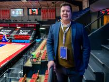 Europacup basketbal in een huilende stad