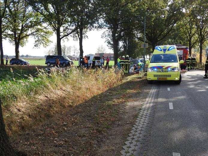 Het ongeluk gebeurde op de kruising van de Vredepeelweg en de Nieuweweg in Westerbeek.