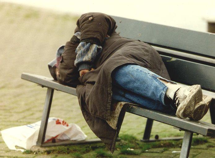 Achterhoekse daklozen krijgen tijdelijk een plekje in Beekbergen. Foto ter illustratie.