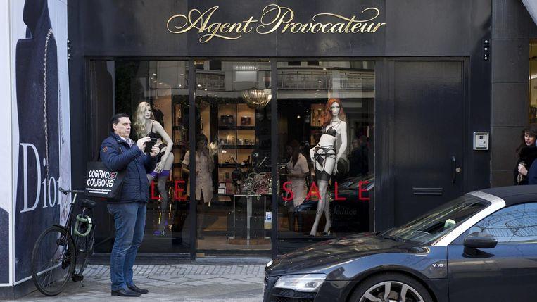Een filiaal van lingeriemerk Agent Provocateur in de Amsterdamse P.C. Hooftstraat. Beeld ANP