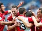 Oppermachtig Utrecht zet in Heerenveen grote stap naar finale play-offs