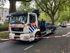 Politie lost waarschuwingsschot en houdt verdachte aan bij Moerweg