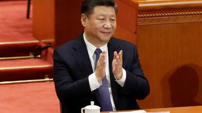 Chinese president mag levenslang regeren