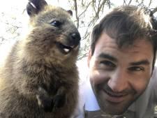 Selfies met vrolijke mini-kangoeroes in de ban op Instagram