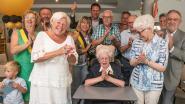 Elza Leroy viert 100ste verjaardag in Residentie Neerhof