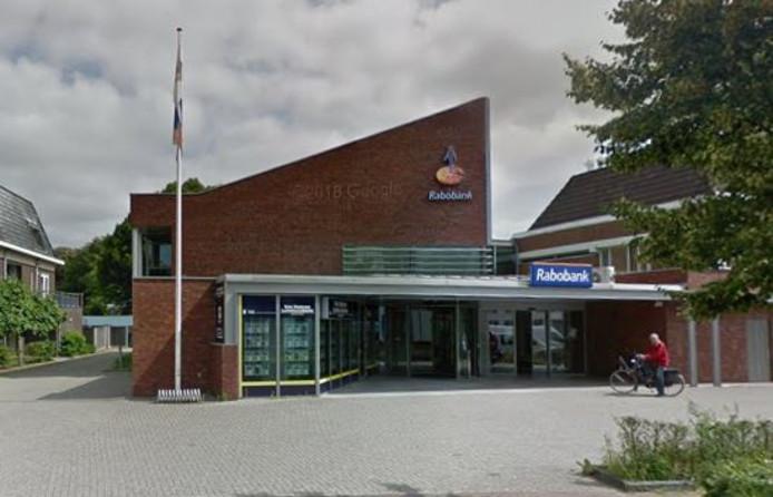 Het voormalige pand van de Rabobank in Vorden