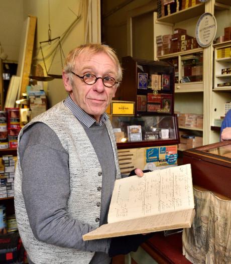 Eeuwenoude documenten gevonden in tabakszaak: 'Doos sigaren kostte in 1846 vier gulden'
