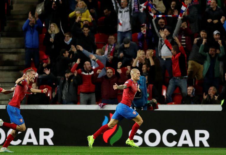 Zdenek Ondrasek maakte de winning goal