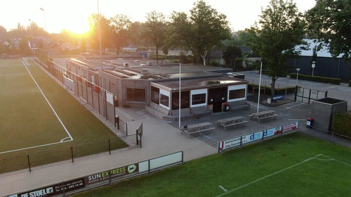 Het clubhuis van Sportvereniging Voetbal Terheijden is al 46 jaar oud.