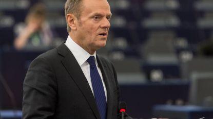 """Donald Tusk: """"Britten hebben nog tijd om brexit te laten varen"""""""