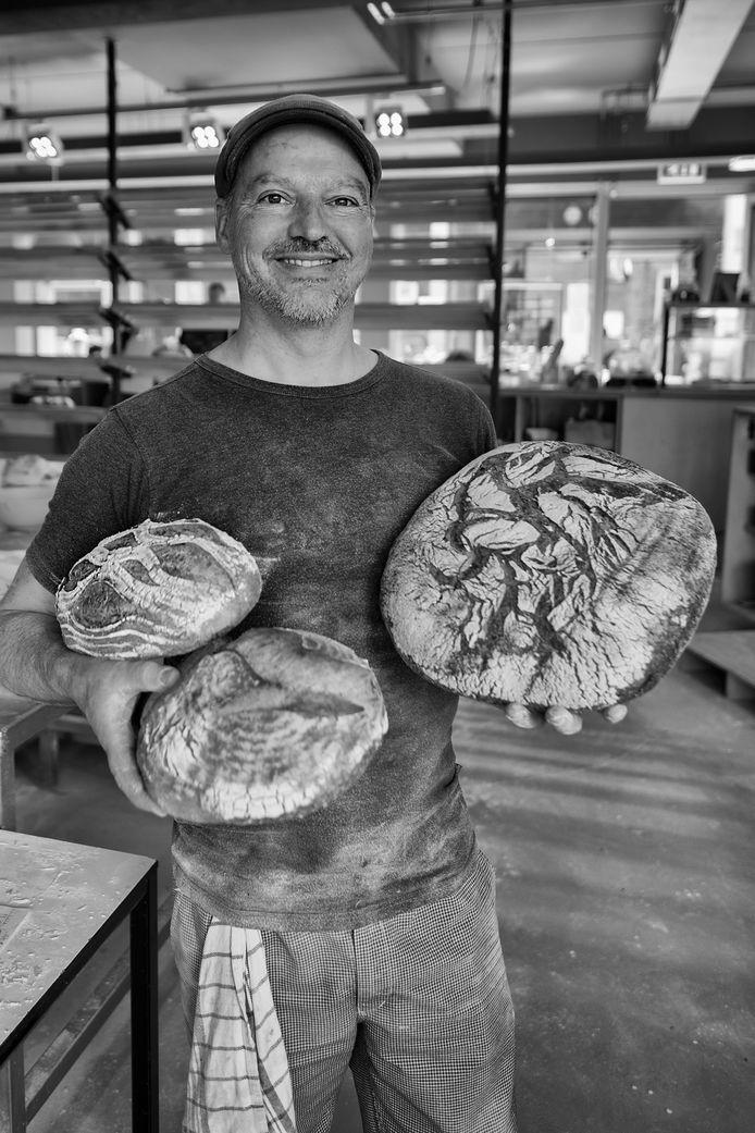 Designer Dido van Klinken (53) werd bakker.