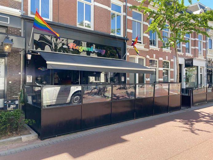 Café De Regenboog in de Van Welderenstraat in Nijmegen.