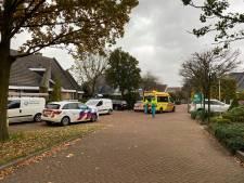 Schilder valt van 3 meter hoge steiger in Harderwijk