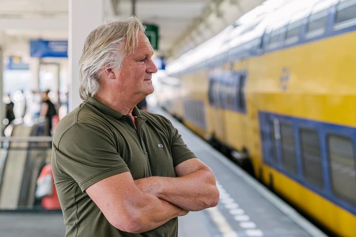 Scheidend ProRail-topman Pier Eringa: 'Ze zijn bang voor lelijke telefoontjes uit Den Haag'.