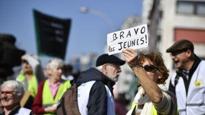 Grootouders voor het Klimaat roepen op om donderdag massaal te betogen na teleurstellende opkomst op vorige mars