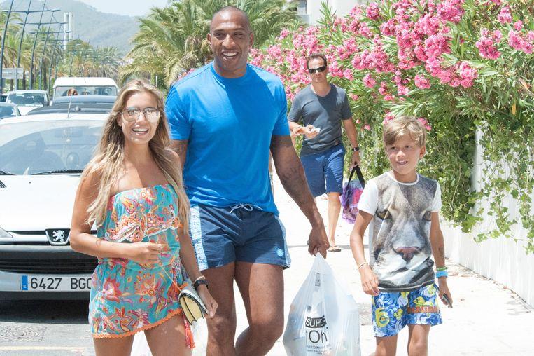 Met Momo en Damián op Ibiza.