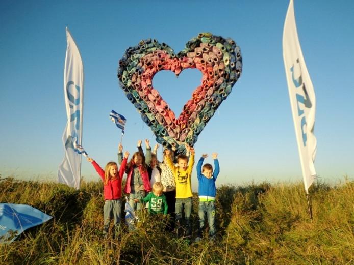 Deze toekomstige deelnemertjes hebben al HART voor de Kustmarathon!