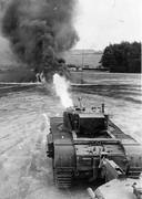 Zogenoemde crocodile tanks die met hun buur alles platbrandden.