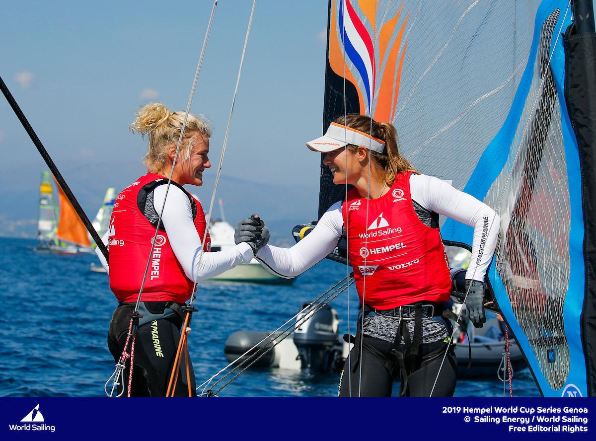 Odile van Aanholt en Marieke Jongens