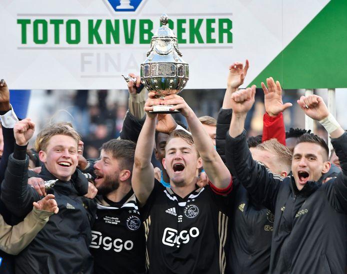 Ajax won vorig seizoen de beker.