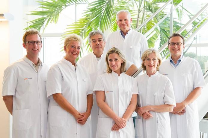 Het team plastisch chirurgen van Gelre ziekenhuizen.