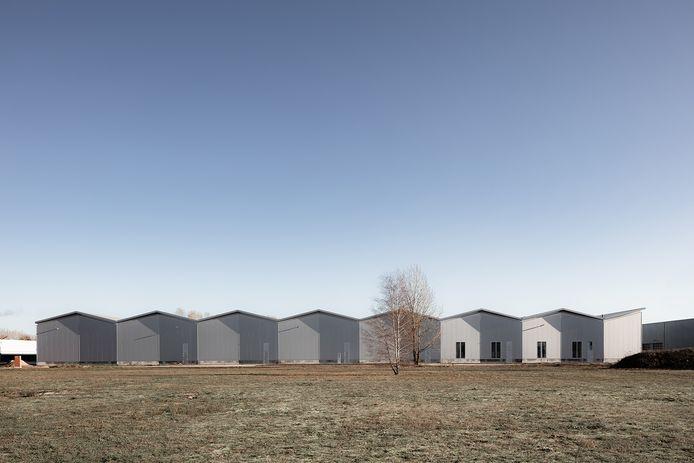 AR Building op Industriepark Kleefse Waard (IPKW) aan de Westervoortsedijk. Ontwerp: Space Encounters, opdrachtgever: Schipper Bosch.