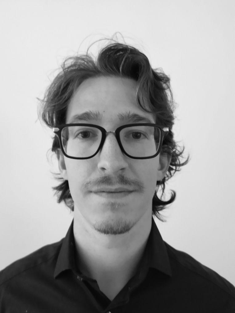 Guus Wieman. PhD-onderzoeker aan het European University Institute in Florence, historicus die zich verdiept in de geschiedenis van statistiek en Europese integratie. Beeld