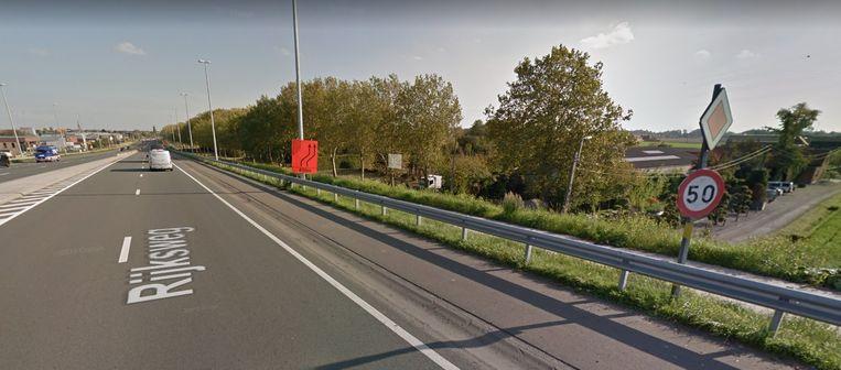 Op de Rijksweg geldt door de werken voor het 3A-knooppunt een snelheidsbeperking van 50 km/u.