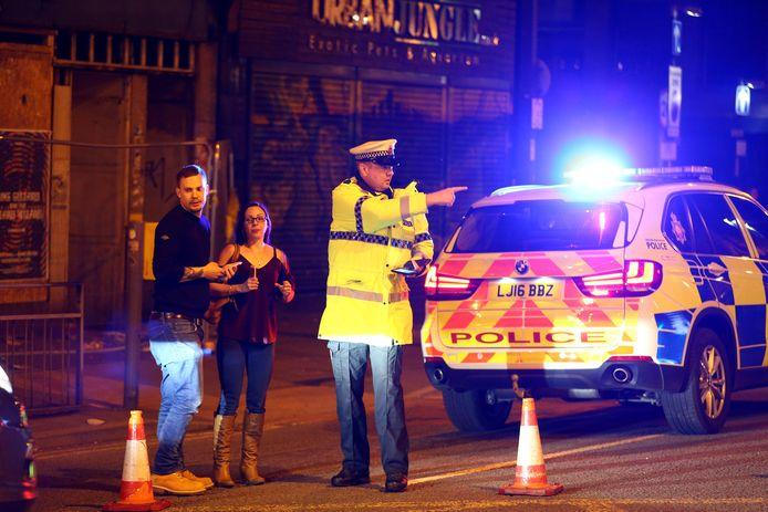 De politie heeft het gebied rond de Manchester Arena afgezet