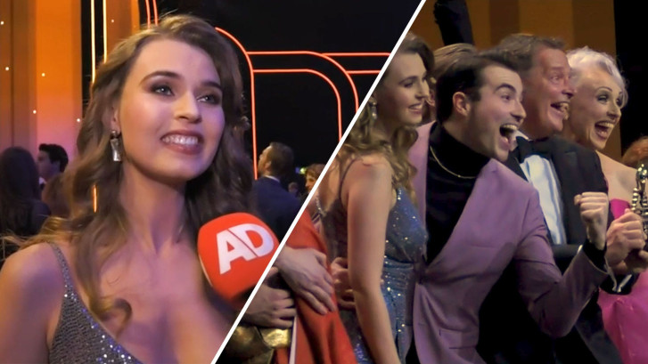 Anastasia wint AD Publieksprijs bij Musical Awards Gala