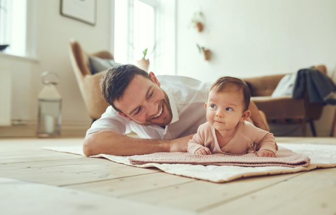 Vader en kind, foto ter illustratie.